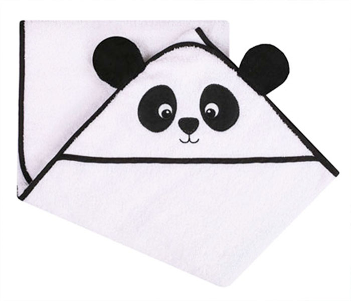 Rankšluostis su gobtuvu Panda Satininės paklodės TavoSapnas