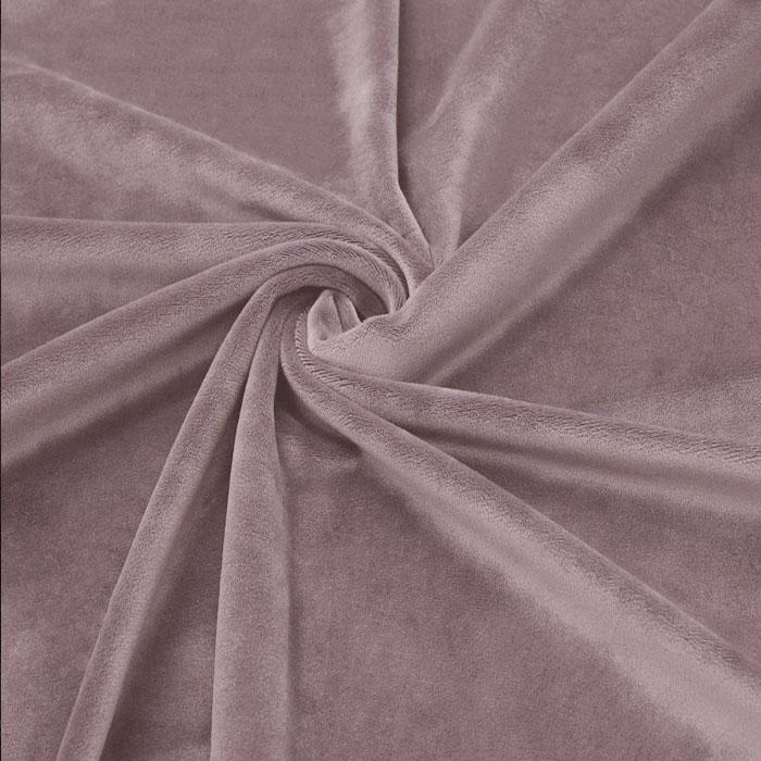 New Soft Veliūras Ash nude-rose, likutis 1x1.50m|Satininės paklodės|TavoSapnas