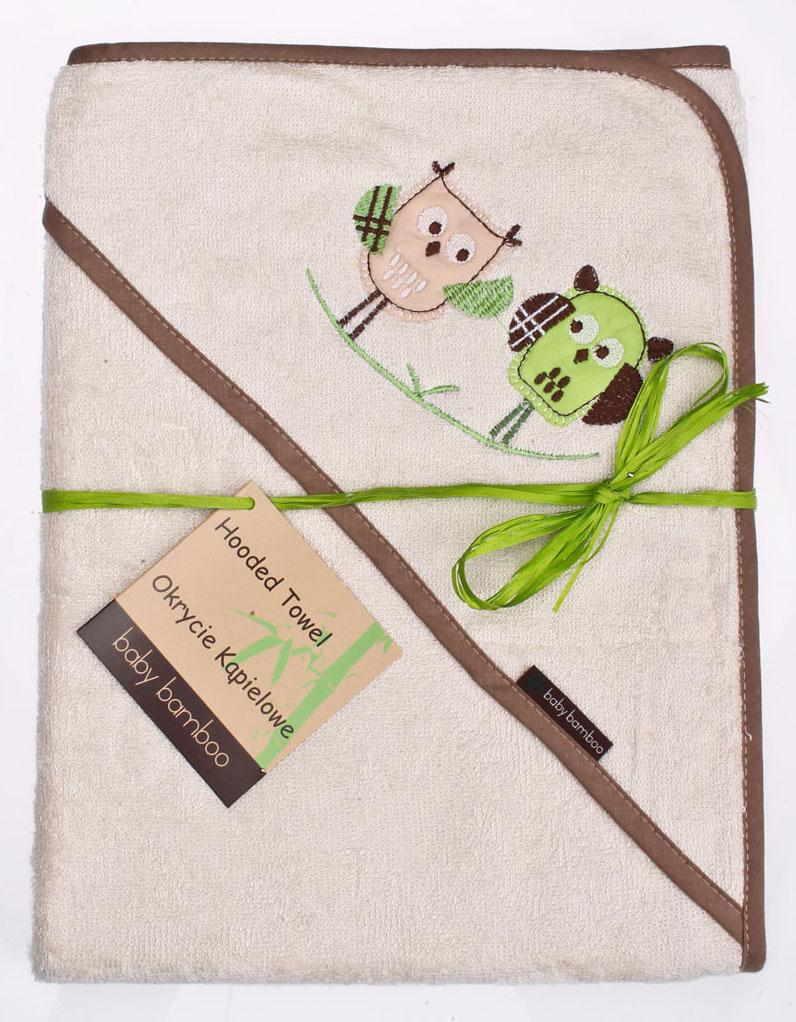 Bamboo rankšluostis su gobtuvu Creamy Satininės paklodės TavoSapnas