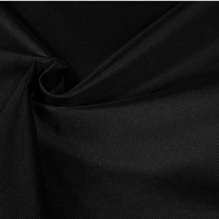 Vandeniui atsparus minkštas audinys Oxford juodas|Satininės paklodės|TavoSapnas